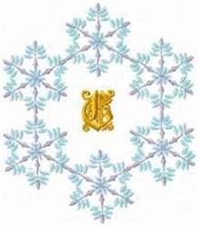 Christmas Fantasy Alphabet C embroidery design