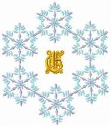 Christmas Fantasy Alphabet E embroidery design
