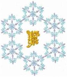 Christmas Fantasy Alphabet F embroidery design