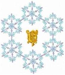 Christmas Fantasy Alphabet H embroidery design