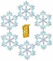 Christmas Fantasy Alphabet J embroidery design