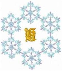 Christmas Fantasy Alphabet K embroidery design