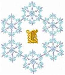Christmas Fantasy Alphabet L embroidery design
