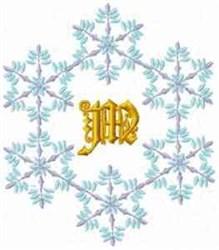 Christmas Fantasy Alphabet M embroidery design