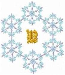 Christmas Fantasy Alphabet N embroidery design