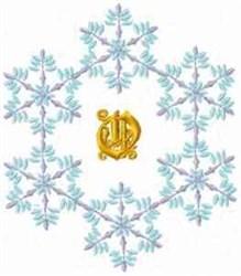 Christmas Fantasy Alphabet O embroidery design