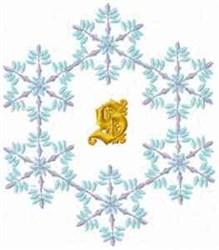 Christmas Fantasy Alphabet S embroidery design