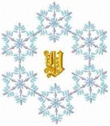 Christmas Fantasy Alphabet Y embroidery design