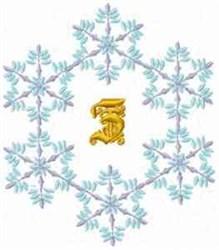 Christmas Fantasy Alphabet Z embroidery design