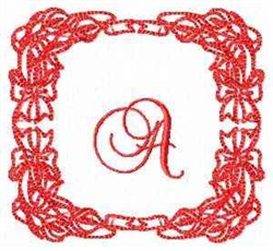 Christmas Lily A embroidery design
