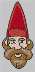 Red Gnome embroidery design