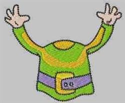 Gnome Shirt embroidery design