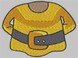 Gnome Yellow Shirt embroidery design