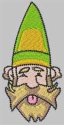 Green Gnome embroidery design