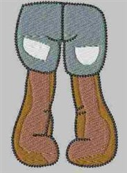 Gnome Bottom embroidery design