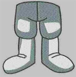 Grey Gnome embroidery design