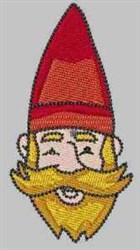 Gnome In Hat embroidery design