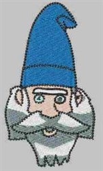 Bearded Gnome embroidery design