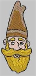 Yellow Beard Gnome embroidery design