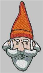 Red Hat Gnome embroidery design