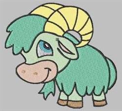 Cartoon Sheep embroidery design