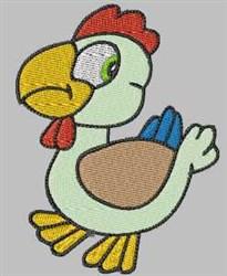 Cartoon Chicken embroidery design