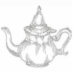 RW Silver Pot embroidery design