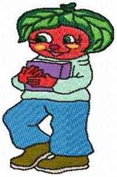 Tammy Tomato embroidery design