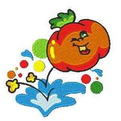 Tomato Bounce embroidery design
