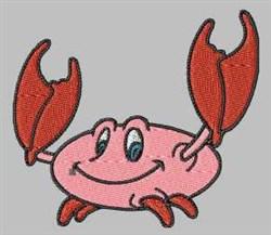 Cartoon Crab embroidery design
