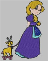 Sarah & Toy embroidery design