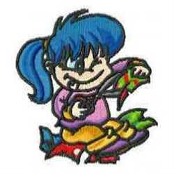 Craft Girl embroidery design