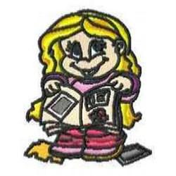 Scrapbook Girl embroidery design