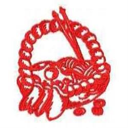 Craft Basket embroidery design