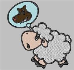 Sheep Dream embroidery design