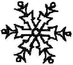 Christmas Snowflake embroidery design