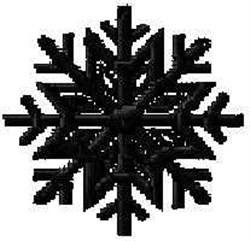 Snowflake Pattern embroidery design