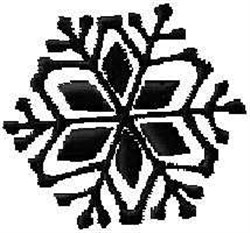 Holiday Snow Flake embroidery design