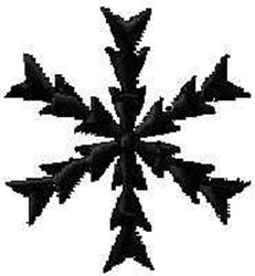 Winter Snow Flakes embroidery design