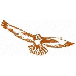 Soaring Eagle embroidery design