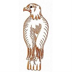 Eagle Back embroidery design