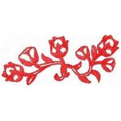 Dutch Tulips embroidery design