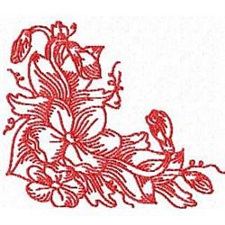 RW Blossoms embroidery design