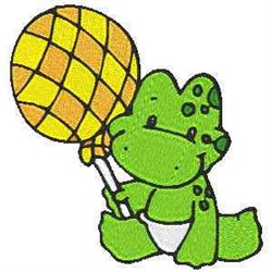 Baby Frog embroidery design