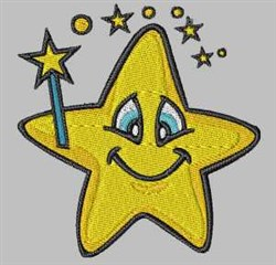 Magic Star embroidery design