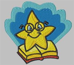 Student Star embroidery design