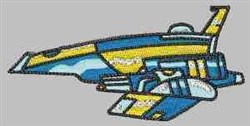 Space Craft embroidery design