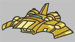 Sci Fi Ship embroidery design