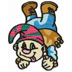 Silly Pirate embroidery design