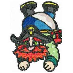 Funny Buccaneer embroidery design